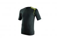 Термобелье летнее EVS TUG YOUTH футболка детская, короткий рукав, черная S/M
