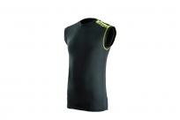 Термобелье летнее EVS TUG YOUTH футболка детская, без рукава, черная S/M