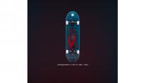 """Скейтборд RIDEX 31.7""""X8.125"""", ABEC-7, Blast"""