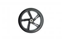 Колесо для самоката, ПУ, D:200x30мм, с подш. ABEC-7