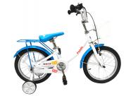 "Велосипед Gravity Panda 16"" бел./син."
