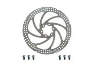 ZOOM Диск торм. TYPE-I 180мм, толщина 2 мм, вес 190г