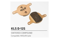 Колодки торм. к диск. торм. KLS D-12S