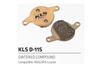 Колодки торм. к диск. торм. KLS D-11S