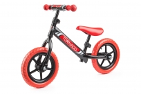 Детский беговел Small Rider Tornado с цветными покрышками (черно-красный)
