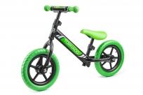 Детский беговел Small Rider Tornado с цветными покрышками (черно-зеленый)