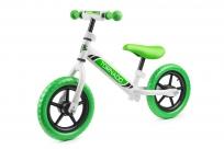 Детский беговел Small Rider Tornado с цветными покрышками (бело-зеленый)