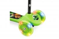 Самокат со светящимися колесами 2 в 1 Cosmic Flash (CZ) (зеленый)
