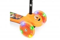 Самокат со светящимися колесами 2 в 1 Cosmic Flash (CZ) (оранжевый)
