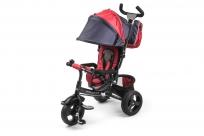 Вездеходный детский трехколесный велосипед Small Rider Discovery (Дискавери) (красный джинс)