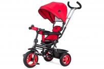 Детский трехколесный велосипед Small Rider Voyager (Вояджер) (красный)
