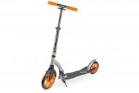 Самокат с большими колесами Zycom Easy Ride 230 (оранжево-серый)
