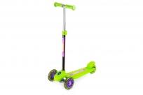 Трехколесный самокат Small Rider Galaxy One (светящиеся колеса) (CZ) (зеленый)