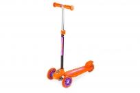 Трехколесный самокат Small Rider Galaxy One (светящиеся колеса) (CZ) (оранжевый)