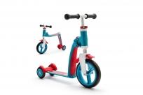 Трехколесный самокат-беговел (трансформер) Scoot&Ride Highway Baby Plus (сине-красный)