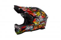 Шлем O-Neal Warp Fidlock Crank / Black / Multi L (59-60см), черный, 0615C-704