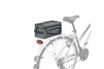 KLS Сумка на багажник SPASE CITY,объем: 10л, цвет серый