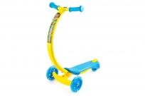 Самокат с изогнутой ручкой и светящимися колесами Zycom Zipster (Зайком Зипстер) (обезьянка)