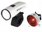 Sigma комплект освещения sportster / mono rl k-set, с зарядкой и акк., белый