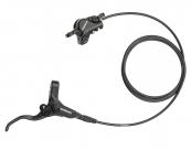 Shimano тормоз дисковый гидравлический am396 передний, чёрный, без ротора, с адаптером под 160мм, гидролиния 75см, б/уп