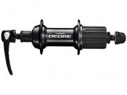 Shimano втулка задняя fh-t610-l deore, 32н, 8/9/10 скоростей, 135х146х173мм, чёрная.