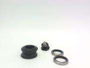 """Neco рулевая h146 полуинтегрировананя 1-1/8""""х44/50х30, высота 9,1±0,5мм, вес 77,8г, алюминий cnс, промподшипники 41x36*x45*, крышка 5мм, чёрная, 10 частей"""