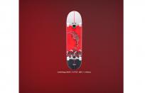 "Скейтборд RIDEX 31.6""X8"", ABEC-5, Redsea"