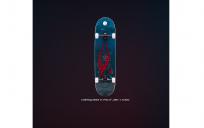 "Скейтборд RIDEX 31.9""X8.25"", ABEC-7, Kraken"