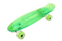 Скейтборд пластиковый прозрачный PLAYSHION  FS-PS002
